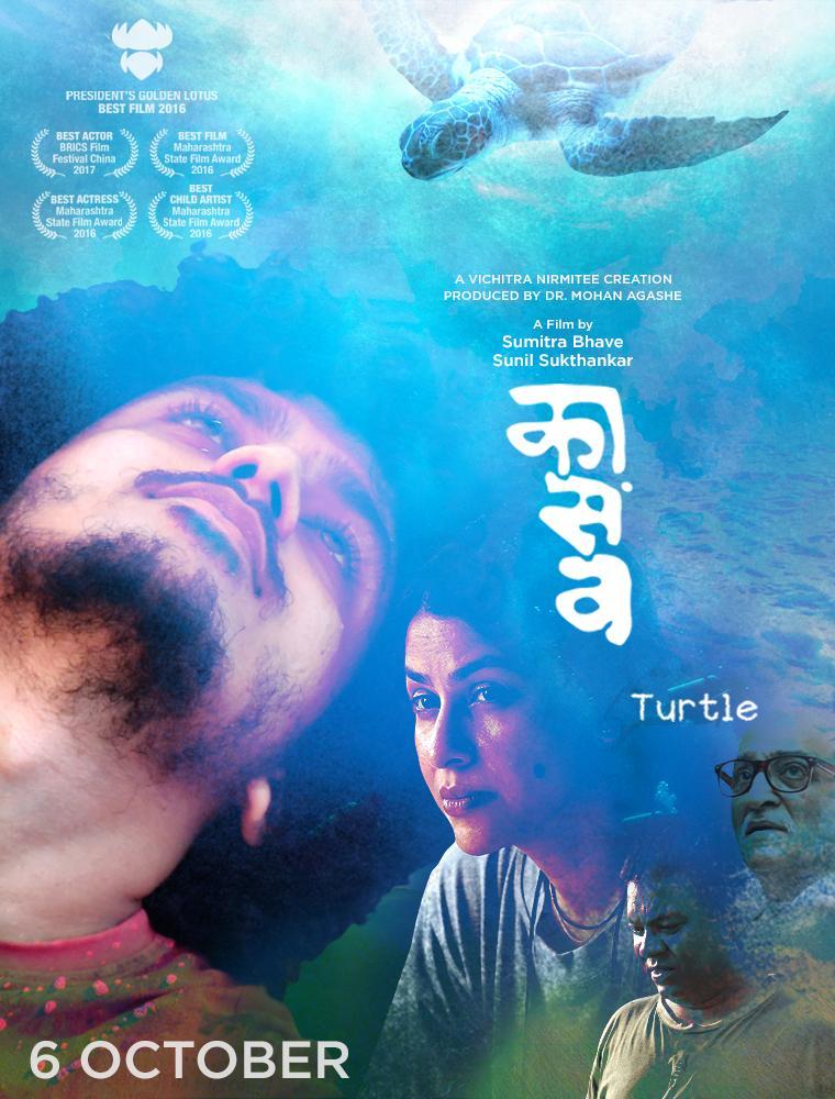 Kaasav Turtle 2017 ORG Hindi Dual Audio 480p UNCUT HDRip ESubs 370MB Download
