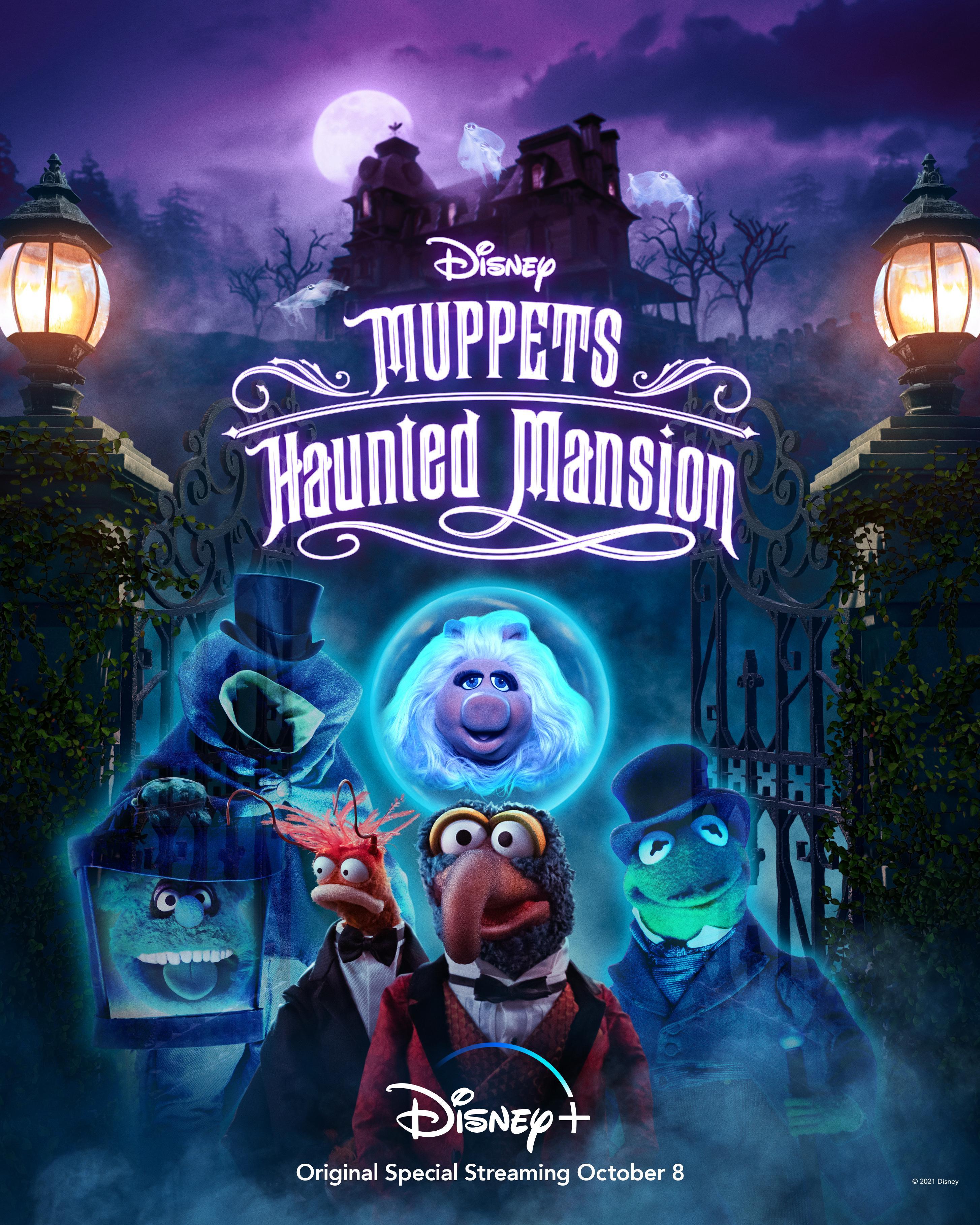 Muppets Haunted Mansion 2021 English 720p HDRip 400MB Download