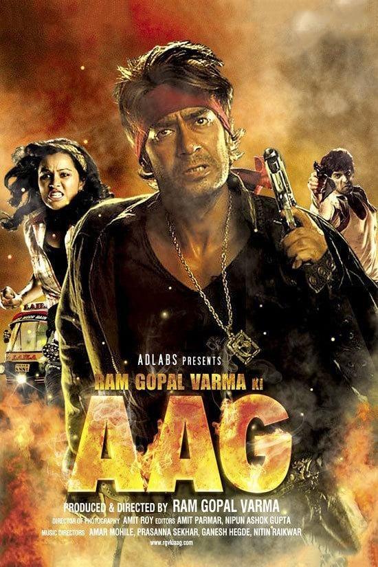 Ram Gopal Varma Ki Aag (2007) Hindi Movie HDRip 400MB Download