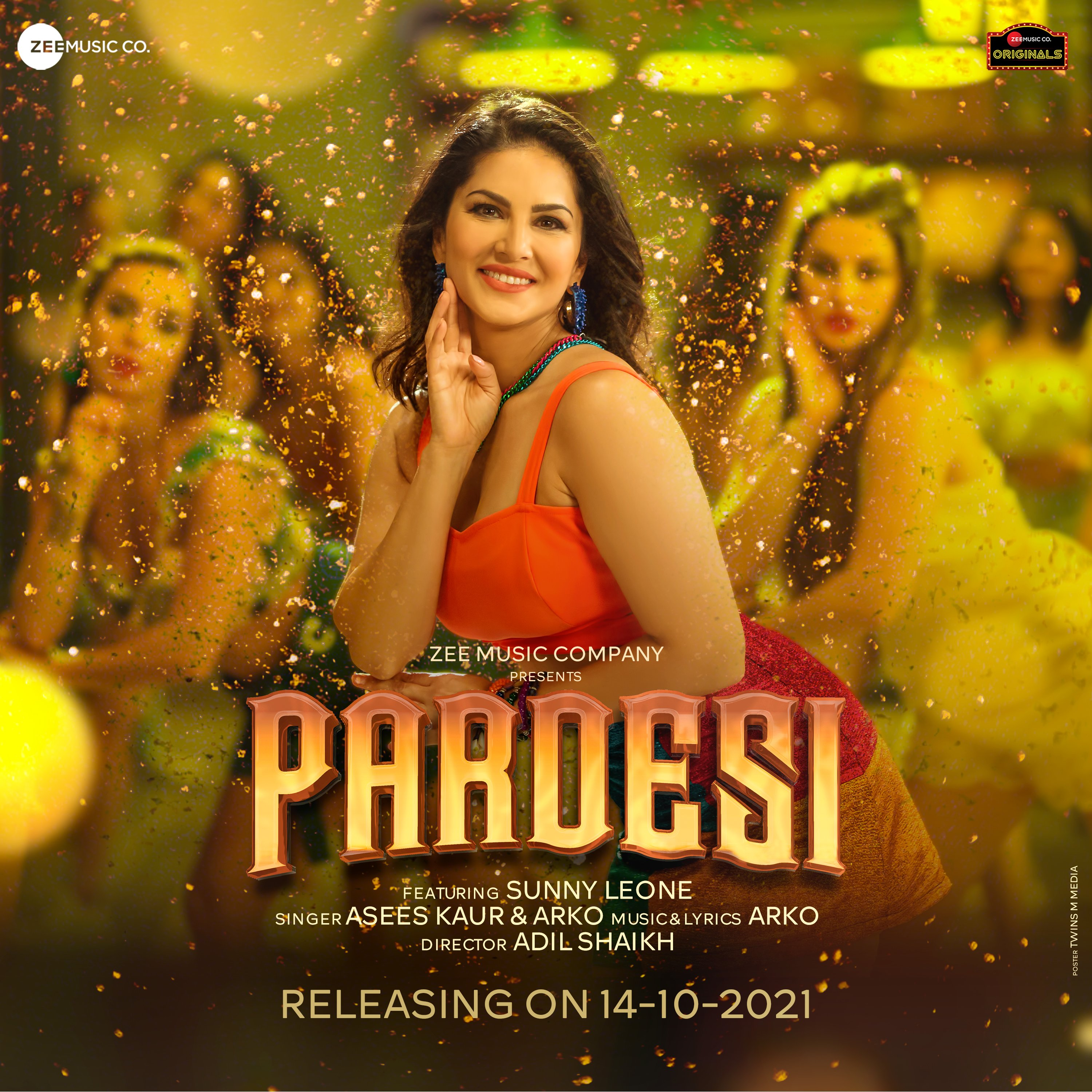 Pardesi By Sunny Leone 2021 Hindi Official Music Video 1080p HDRip Download