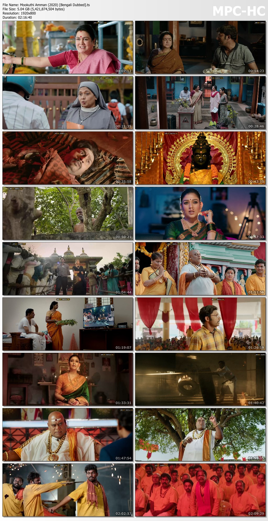 Mookuthi Amman (2020) [Bengali Dubbed].ts thumbs