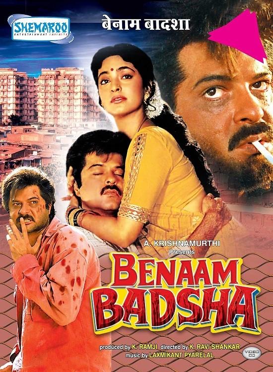 Benaam Badsha (1991) Hindi Movie HDRip 550MB Download