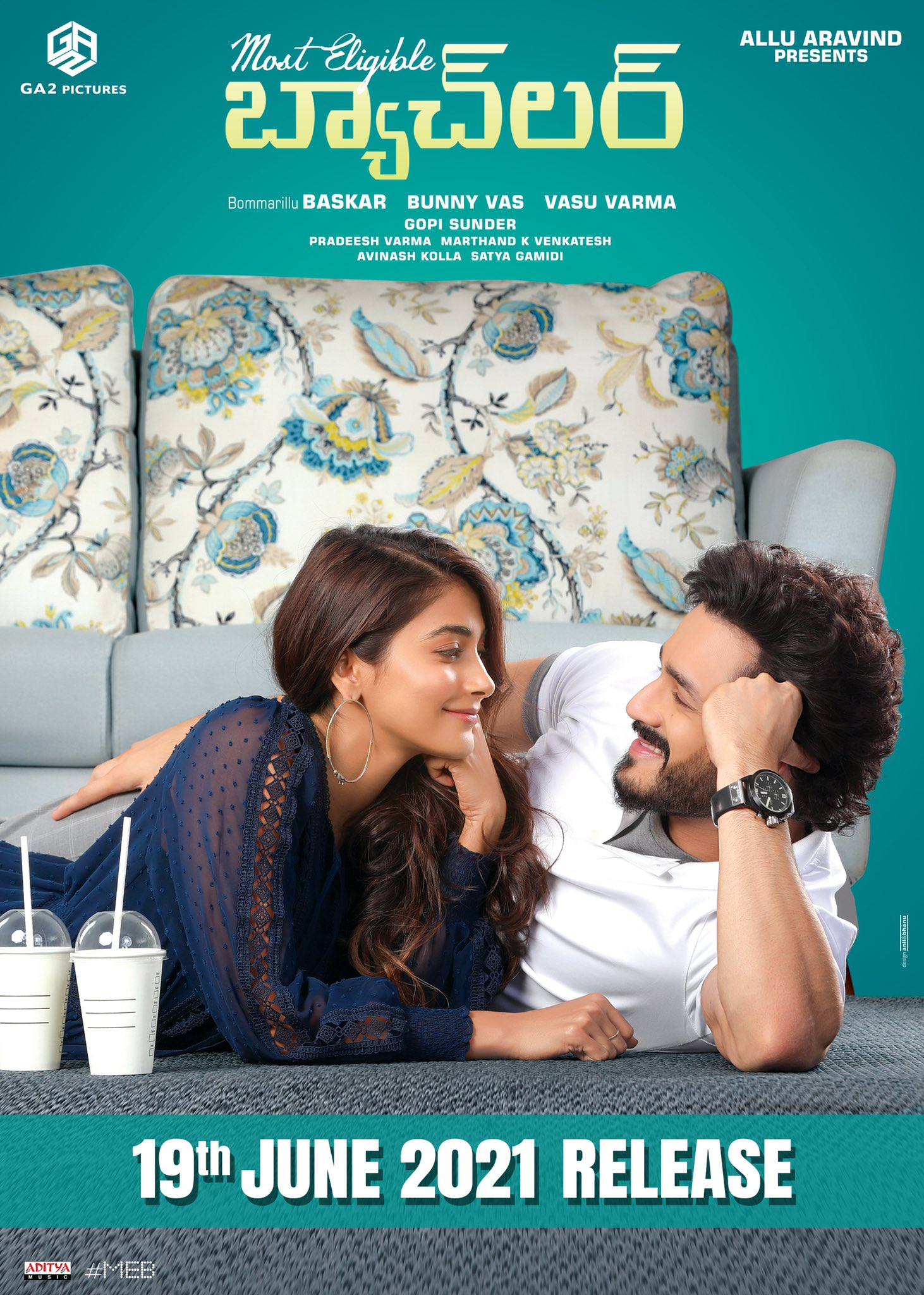 Most Eligible Bachelor 2021 Telugu 480p HQ PreDVDRip 400MB Download