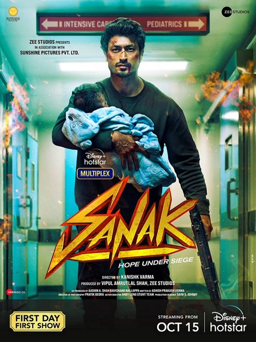 Sanak (2021) WEB-DL 480p 720p 1080p Hindi DD5.1 x264 Full Movie [Hotstar Film]