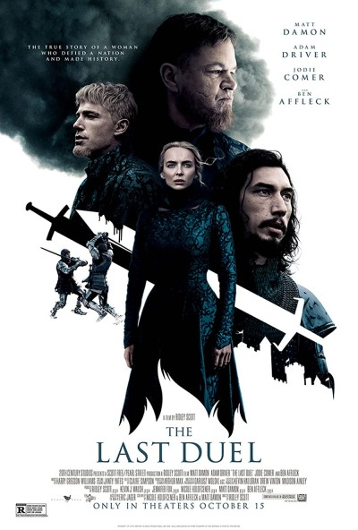 The Last Duel 2021 English 480p HDCAM 450MB Download