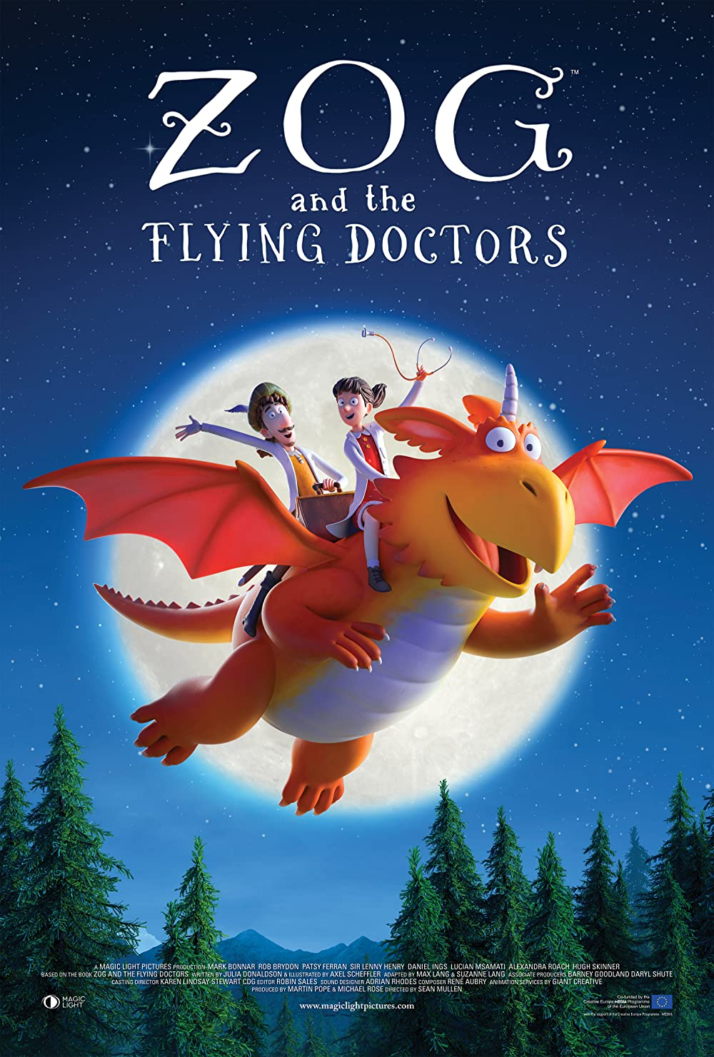 Zog and the Flying Doctors 2021 English 720p AMZN HDRip ESub 400MB Download