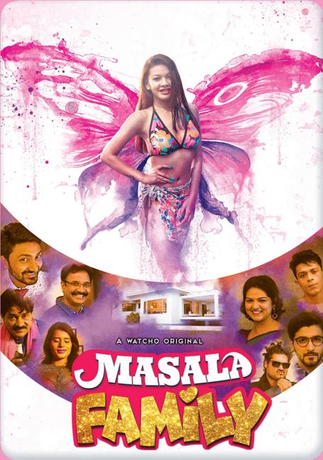 Masala Family 2021 S01 Hindi Complete Watcho Originals Web Series 480p HDRip 384MB Download