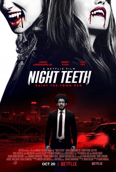 Night Teeth 2021 Hindi ORG Dual Audio 480p NF HDRip MSub 400MB Download