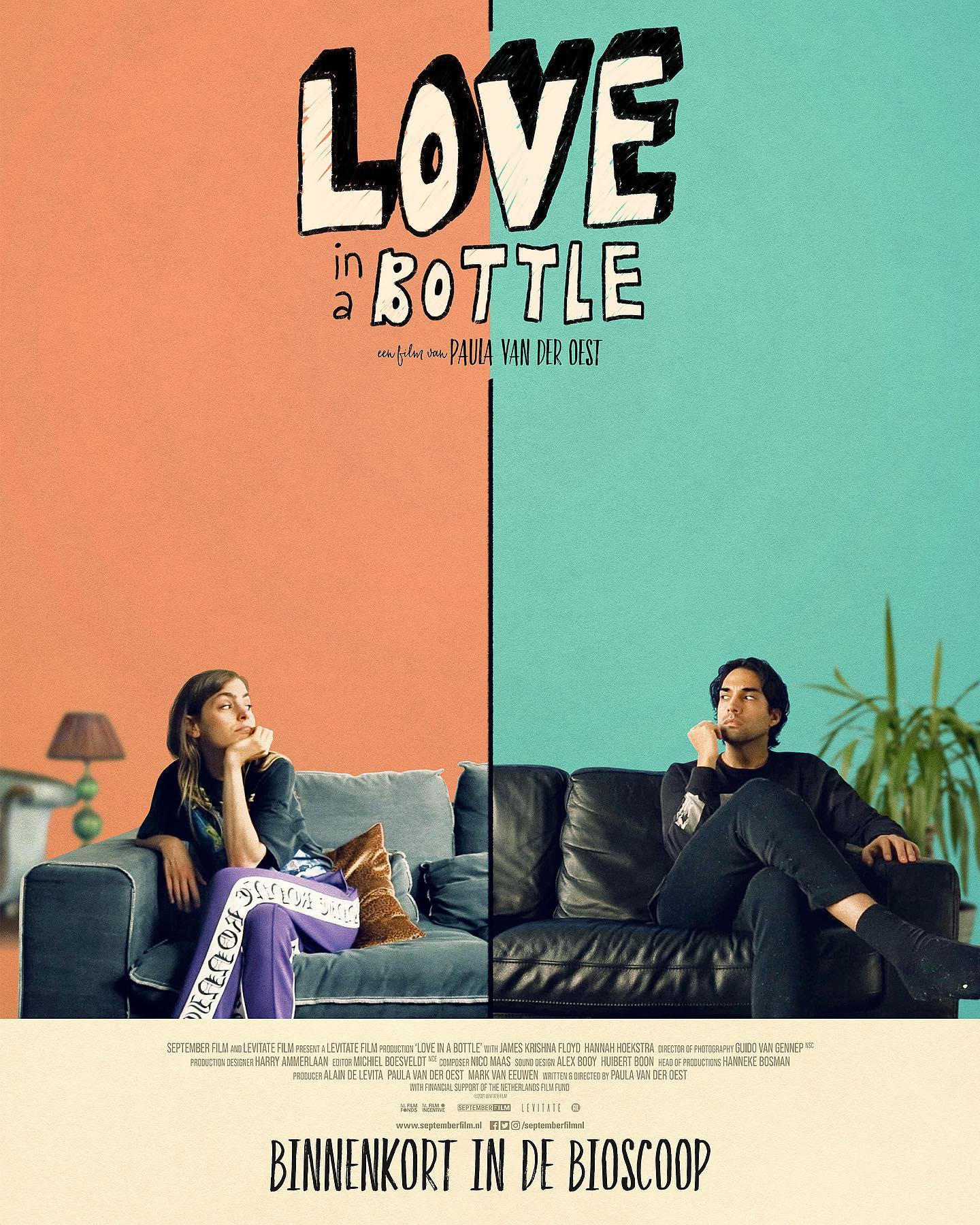 Love in a Bottle 2021 English 480p HDRip 250MB Download