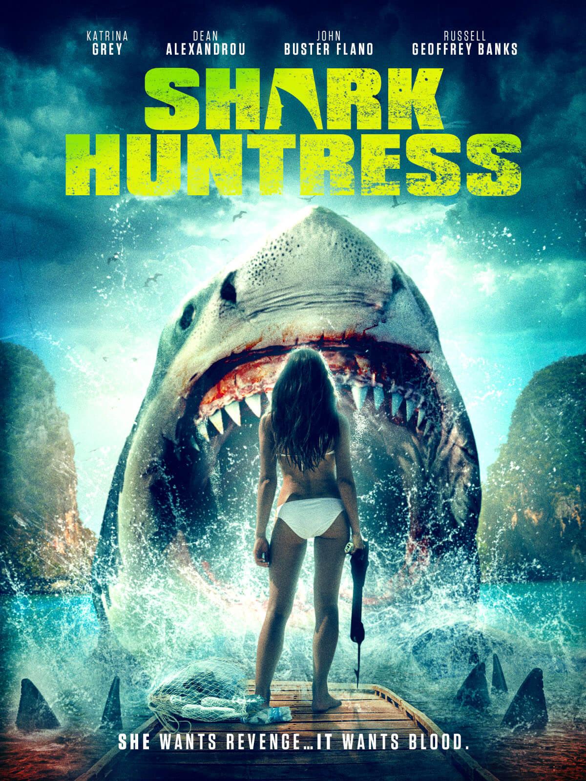 Shark Huntress 2021 English 720p AMZN HDRip ESub 800MB Download