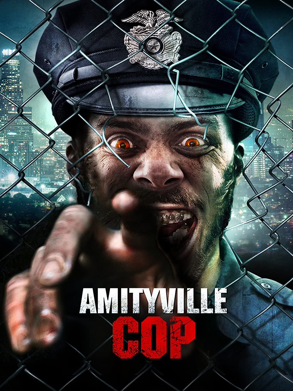 Amityville Cop 2021 English 720p HDRip 800MB Download