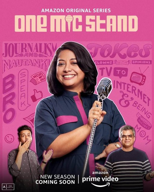 One Mic Stand S02 2021 Hindi Complete AMZN Series 720p HDRip 981MB Download