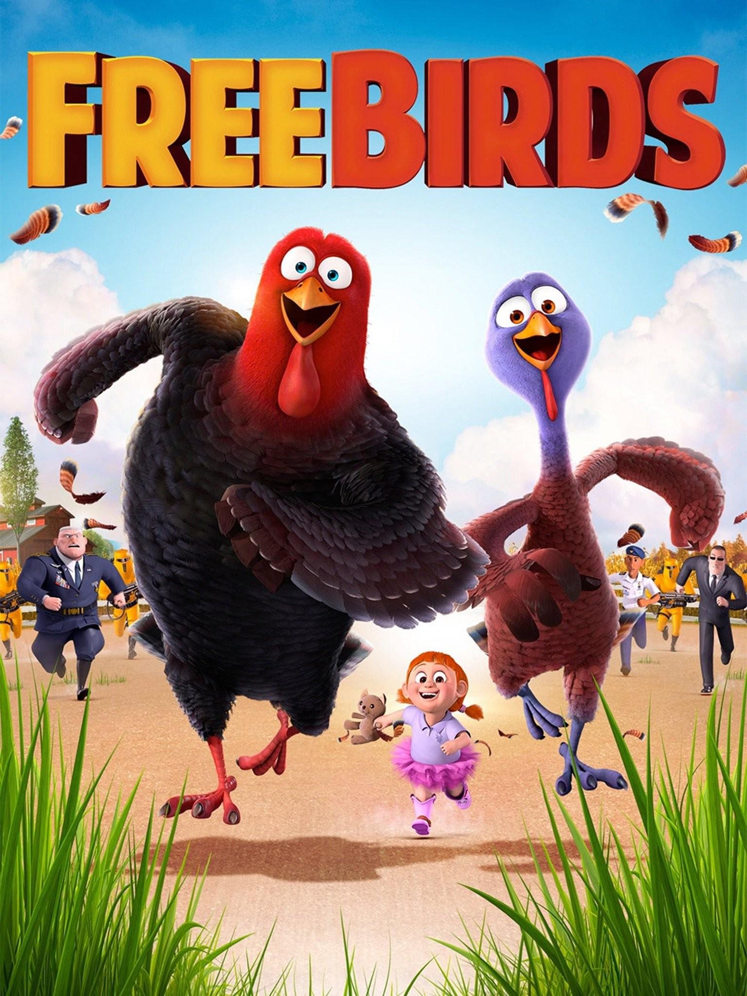 Free Birds (2013) Hindi ORG Dual Audio BluRay 350MB Download