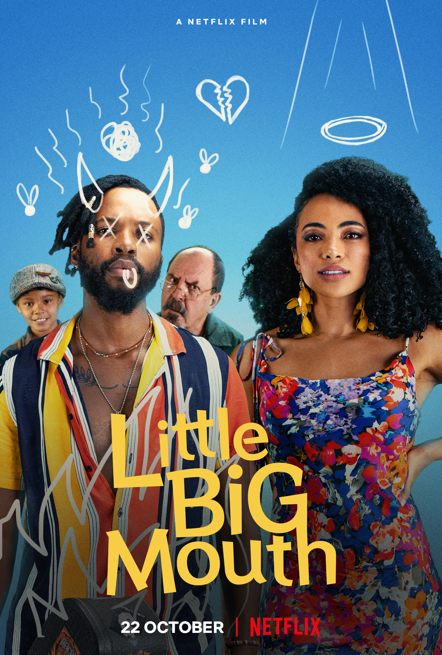 Little Big Mouth 2021 English 480p NF HDRip ESub 300MB Download