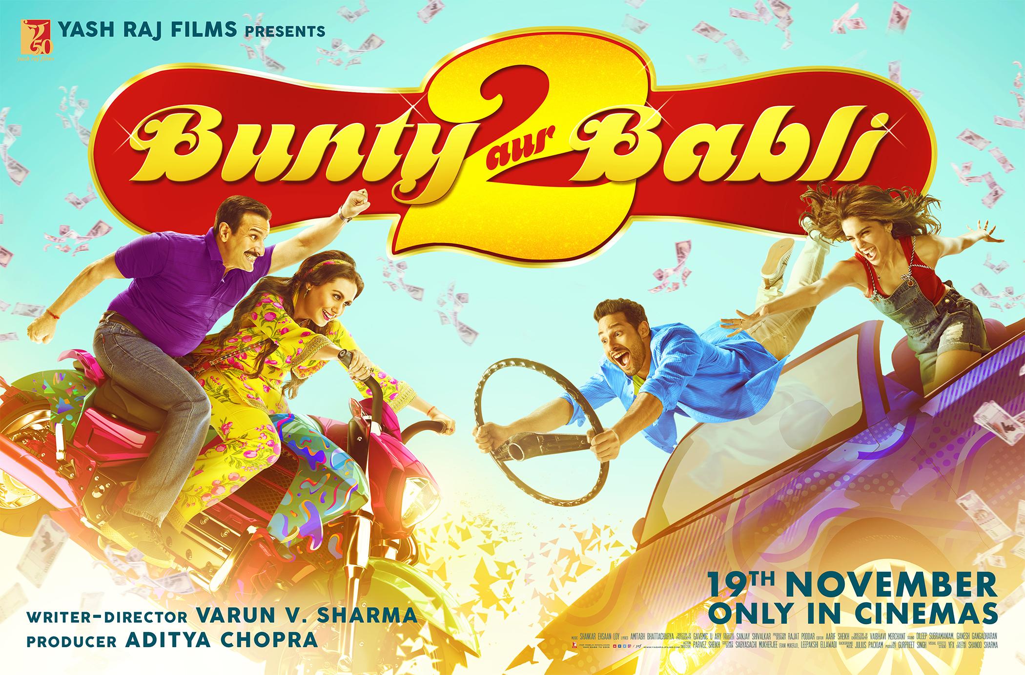 Bunty Aur Babli 2 2021 Hindi Movie Official Trailer 1080p HDRip 53MB Download