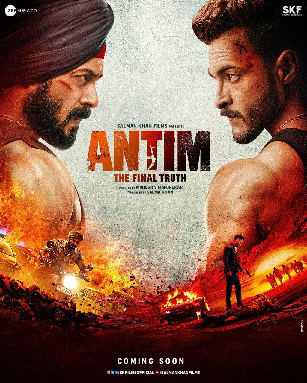 ANTIM The Final Truth 2021 Hindi Movie 720p HDRip 1.2GB Download