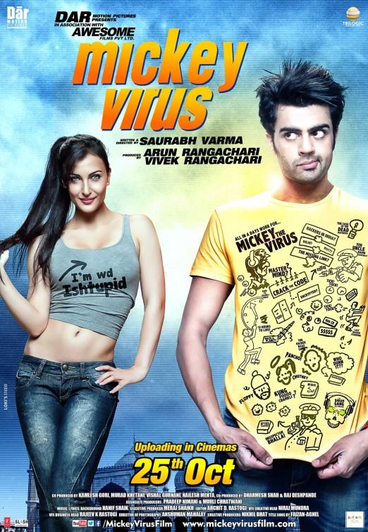 Mickey Virus 2013 Hindi Movie AMZN HDRip 300MB Download