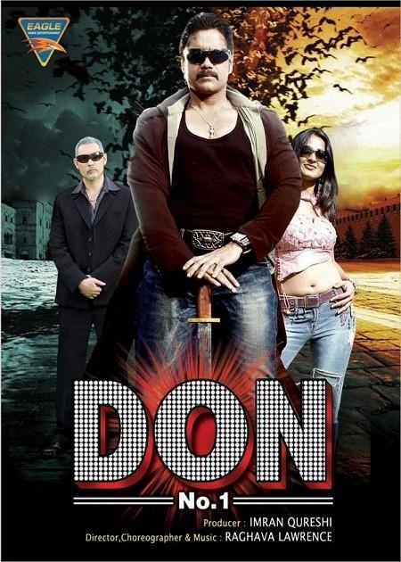 Don No 1 (2007) Hindi Dubbed ORG HDRip 450MB Download