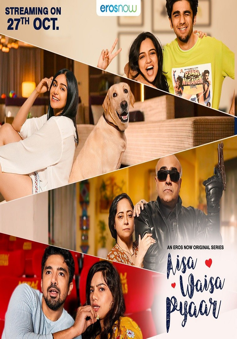 Download Aisa Waisa Pyaar 2021 S01 Hindi Eros Now Original Complete Web Series 720p UNRATED HDRip 530MB