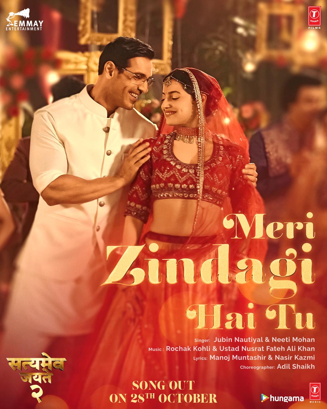 Meri Zindagi Hai Tu (Satyameva Jayate 2) 2021 Hindi Movie Video 1080p HDRip Download